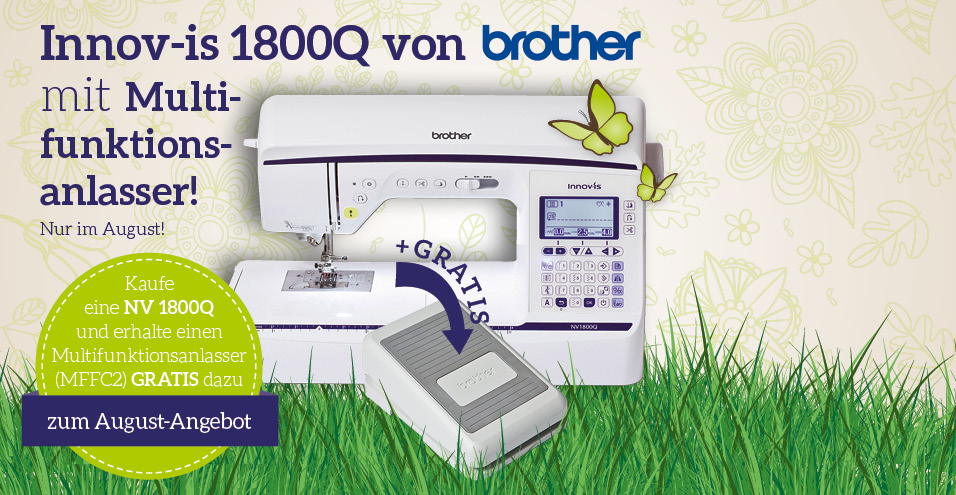 August-Angebot brother