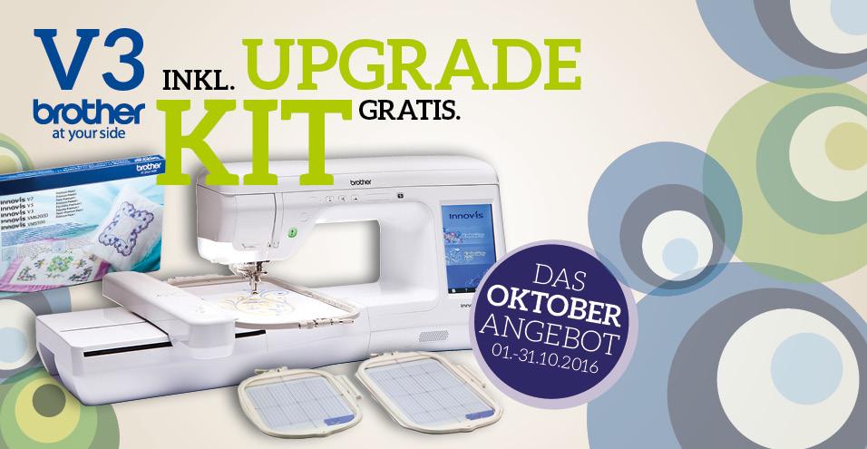 brother V3 inkl. gratis Upgrade Kit
