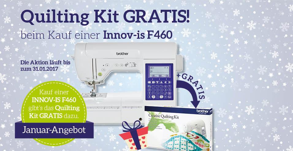 Innov-is F460 + Quilting Kit GRATIS