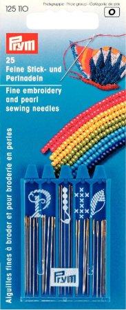 Prym Stick- und Perlnadeln ST silberfarbig/goldfarbig sortiert