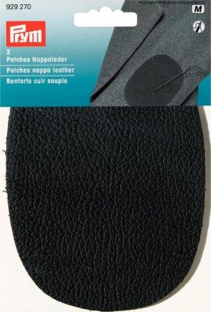 Prym Patches Nappaleder (nähen) 10x14 cm schwarz