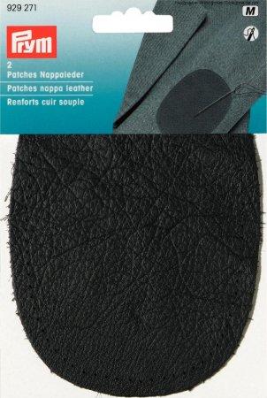 Prym Patches Nappaleder (nähen) 10x14 cm dunkelgrau