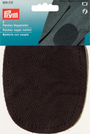 Prym Patches Nappaleder (nähen) 10x14 cm dunkelbraun