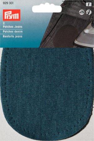 Prym Patches Jeans (bügeln) 10 x 14 cm mittelblau