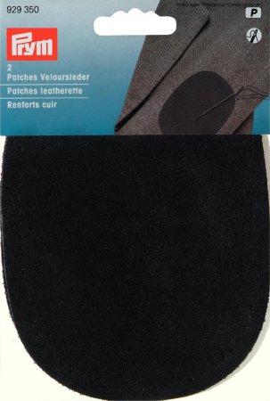 Prym Patches Veloursleder (nähen) 10 x 14 cm schwarz
