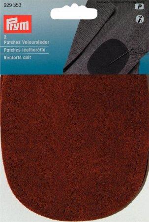 Prym Patches Veloursleder (naehen) 10 x 14 cm camel