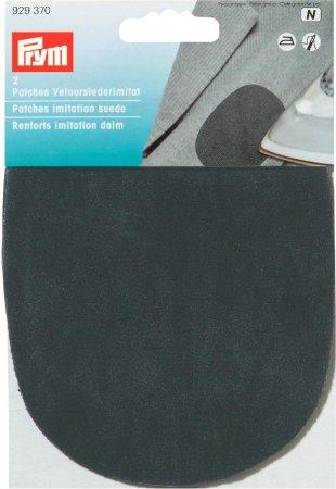 Prym Patches Velourslederimitat (bügeln) 10 x 14 cm schwarz