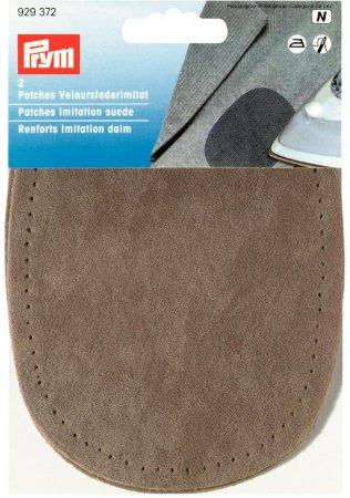 Prym Patches Velourslederimitat (bügeln) 10 x 14 cm stein