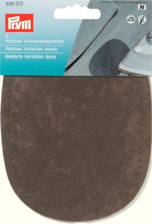 Prym Patches Velourslederimitat (bügeln) 10 x 14 cm dunkelbraun