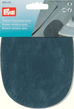 Prym Patches Velourslederimitat (bügeln) 10 x 14 cm marine