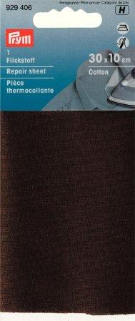 Prym Flickstoff CO (bügeln) 12 x 45 cm braun