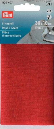 Prym Flickstoff CO (bügeln) 12 x 45 cm rot