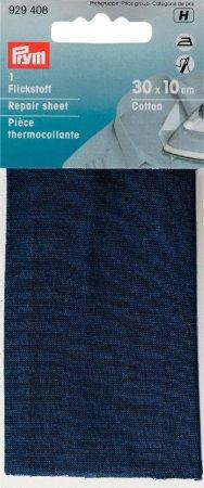 Prym Flickstoff CO (bügeln) 12 x 45 cm mittelblau
