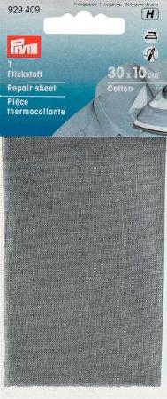 Prym Flickstoff CO (bügeln) 12 x 45 cm hellgrau