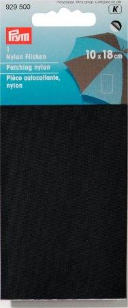 Prym Klebeflicken Nylon 10 x 18 cm schwarz