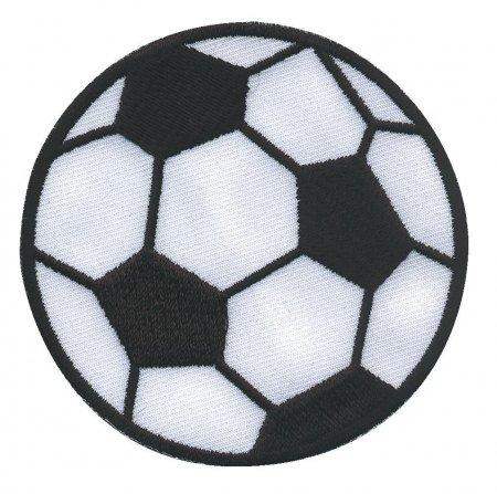 Prym Applikation Fussball mittel