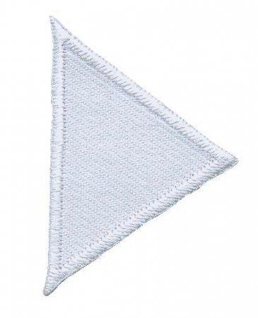 Prym Applikation Dreiecke klein, weiss