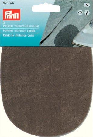 Prym Patches Velourslederimitat (buegeln) 10 x 14 cm oliv