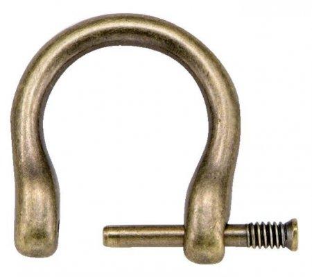 Prym Aufhänger für Taschengriffe 18 mm altmessing