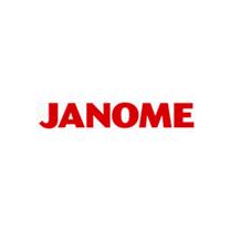 Janome  1-Loch-Stichplatte