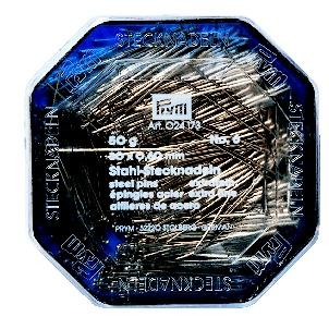 Prym Stecknadeln ST 0,60 x 30 mm silberfarbig