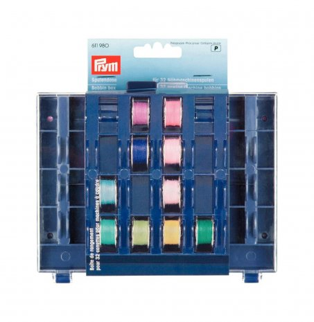 Prym Spulendose für 32 Nähmaschinenspulen