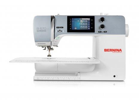 Bernina 570 QE inkl. Stickmodul