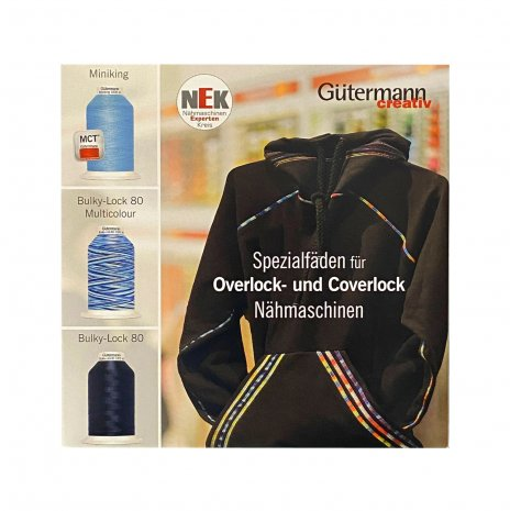 Garn Gütermann OverlockNähfaden-Set