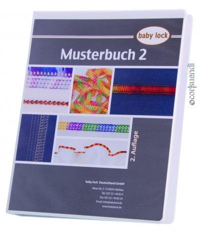 Babylock Musterbuch Coverlock Kombimaschinen und Cover