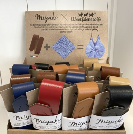 Miyako Trageriemen aus Leder