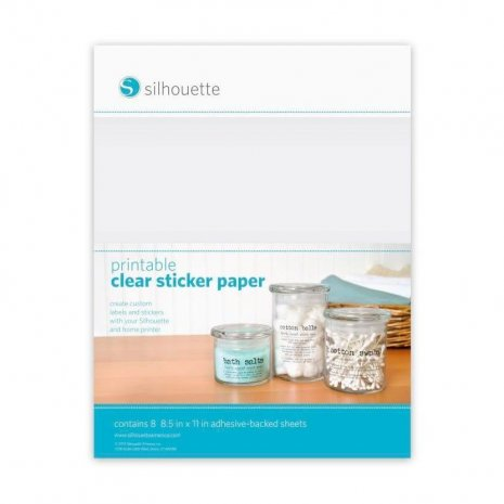 SIL Transparentes Stickerpapier