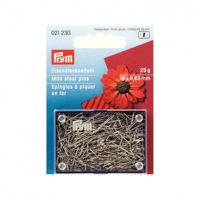 Prym Bastelstecknadeln EIS 0,65 x 16 mm silberfarbig