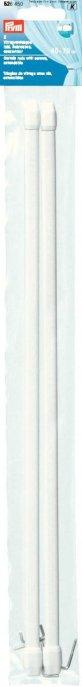 Prym Vitragenstangen inkl. Schrauben ausziehbar 40-70 cm