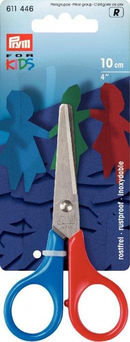 Prym Kinderschere Prym for Kids 4 10 cm Griff blau/rot
