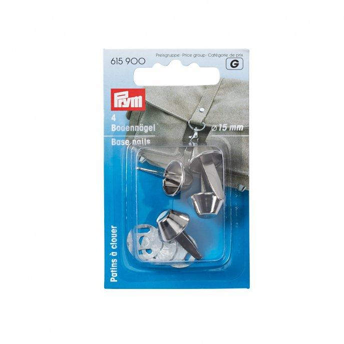 Prym Bodennägel für Taschen 15 mm silberfarbig