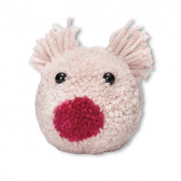 Prym Prym Love Pompon Schablone Schwein Percy
