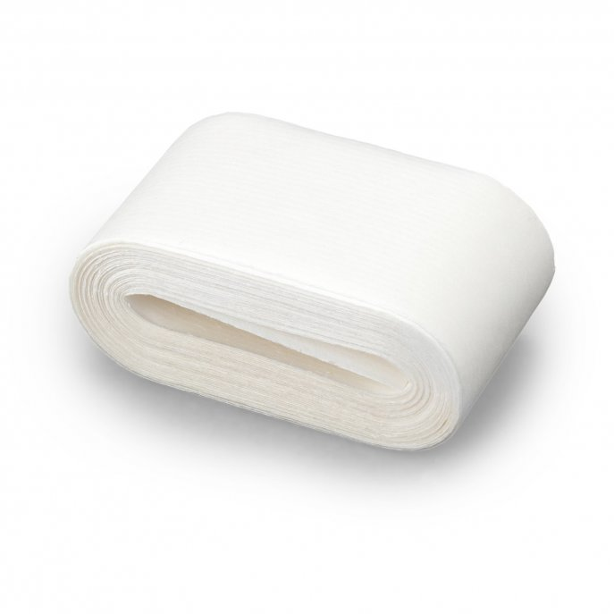 Prym Saumvlies mit Trägerpapier zum Einbügeln 20mm  weiss