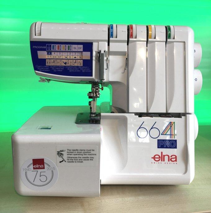 Elna  Overlock 664 Pro aus unserer Ausstellung