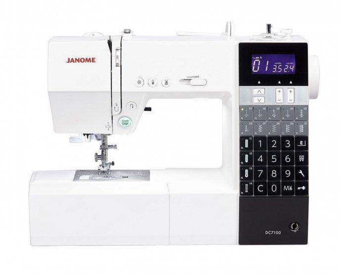Janome DC 7100 Computernähmaschine