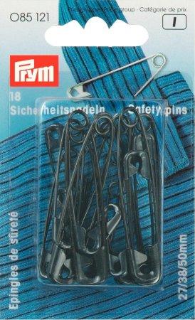 Prym Sicherheitsnadeln ST 27/38/50 mm schwarz