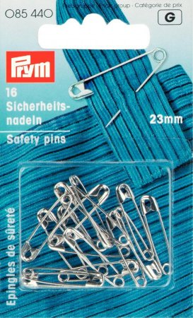 Prym Sicherheitsnadeln ST 23 mm silberfarbig