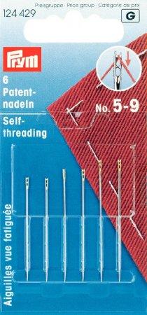 Prym Patentnähnadeln ST 5-9 silberfarbig/goldfarbig