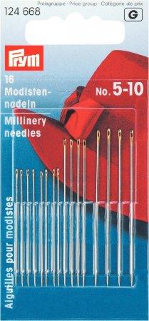 Prym Modistennadeln ST 5-10 silberfarbig/goldfarbig