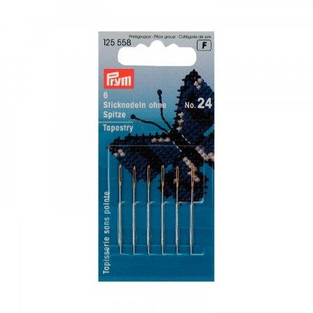 Prym Sticknadeln ohne Sp. ST 24 0,80 x 37 mm