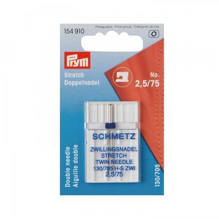 Prym Zwillingsnadel Stretch 154910 75/2,5 mm