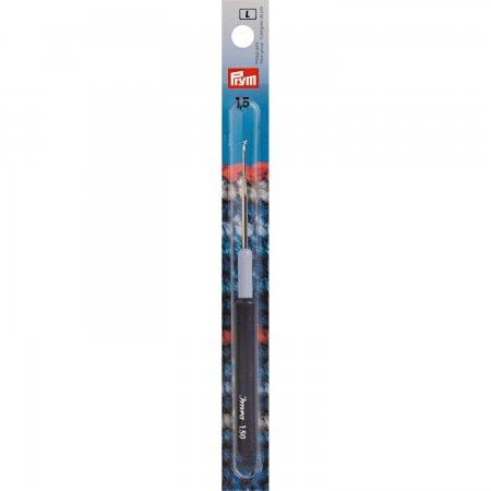 Prym Garn-Häkelnadeln KST-Griff ST 1,50 mm silberfarbig