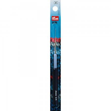Prym Garn-Häkelnadeln KST-Griff ST 0,75 mm silberfarbig