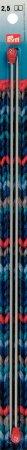 Prym Jackenstricknadeln ALU 35 cm 2,50 mm grau