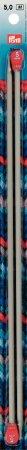 Prym Jackenstricknadeln ALU 35 cm 5,00 mm grau