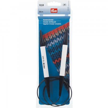 Prym Rundstricknadeln KST 80 cm 12,00 mm weiß/blau